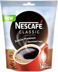 Water delivery Kharkiv — Кофе NESCAFE Classic растворимый 120 г_3